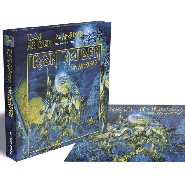 IRON MAIDEN – LIVE AFTER DEATH PUZZLE 500 KOM