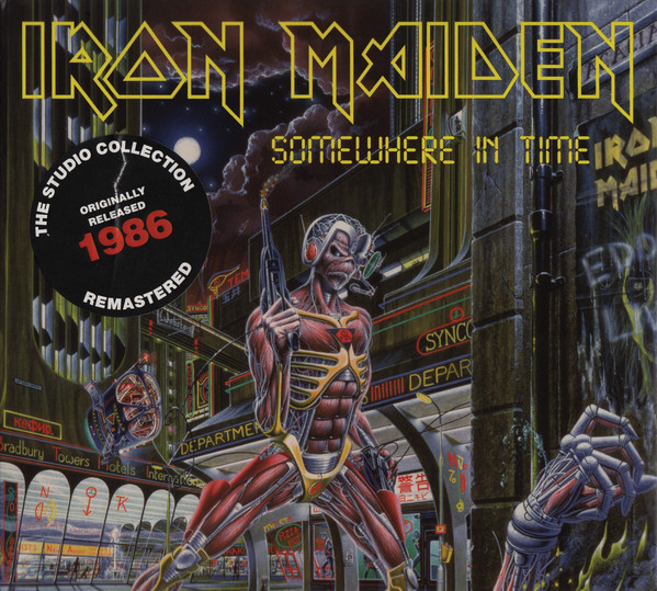 IRON MAIDEN – SOMEWHERE IN TIME RM digi…CD