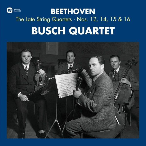 BUSCH QUARTET – BEETHOVEN LAST STRING QUARTETS LP3