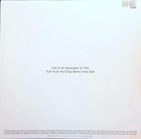 NEW ORDER – TUTTI FRUTTI…LP-EP