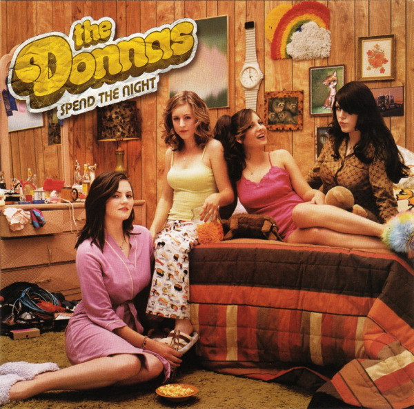 DONNAS – SPEND THE NIGHT LP2