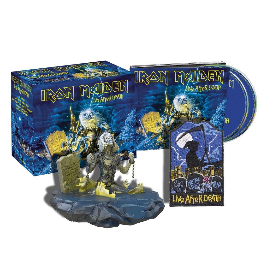 Iron Maiden predstavili kolekcionarska izdanja The Live Collection – Remastered