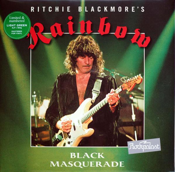 RAINBOW – BLACK MASQUERADE light green LP3