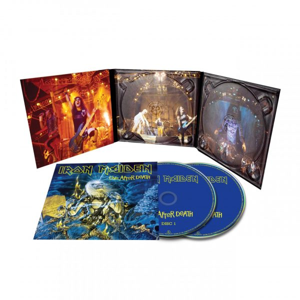 IRON MAIDEN – LIVE AFTER DEATH RM CD2