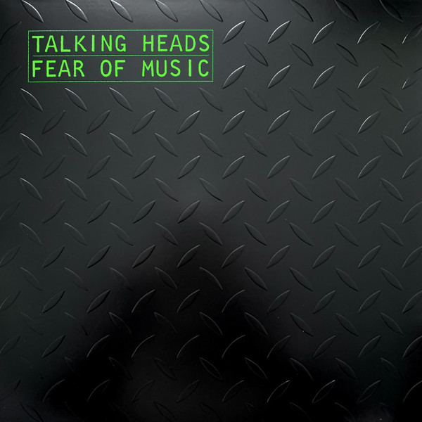 TALKING HEADS – FEAR OF MUSIC ltd silver vinyl LP