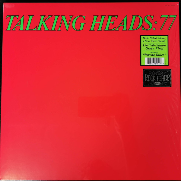 TALKING HEADS – 77 ltd green vinyl LP