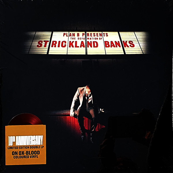 PLAN B – DEFAMATION OF STRICKLAND BANDS ldd ox-blood vinyl LP2