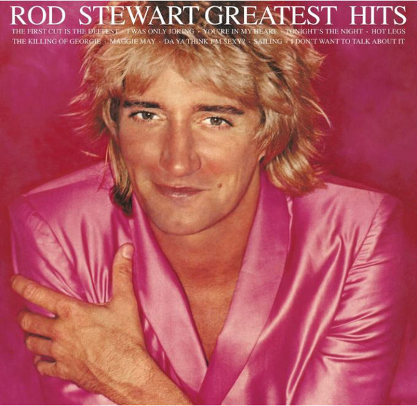 STEWART ROD – GREATEST HITS white vinyl LP