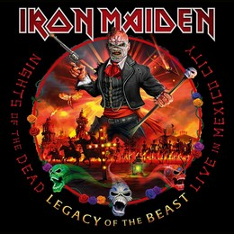 IRON MAIDEN – NIGHTS OF THE DEAD,LEGACY OF THE BEAST: LIVE IN MEXICO CITY (2020) LP3