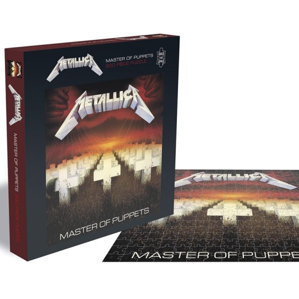 METALLICA – MASTER OF PUPPETS PUZZLE 500 KOM
