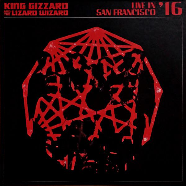 KING GIZZARD & THE LIZARD WIZARD – LIVE IN SAN FRANCISCO coloured vinyl LP2