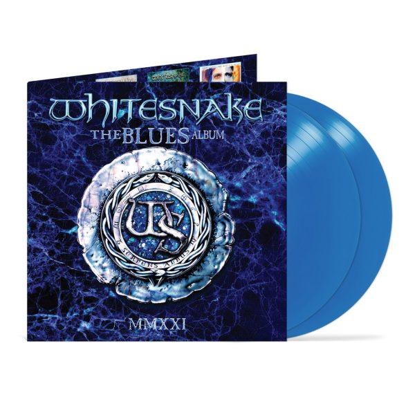 WHITESNAKE – BLUES ALBUM  (blue) LP