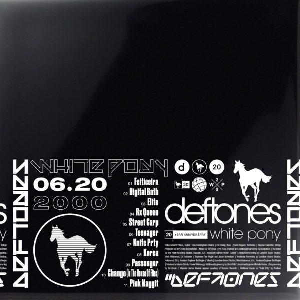 DEFTONES – WHITE PONY 20TH ANNIVERSARY LP4