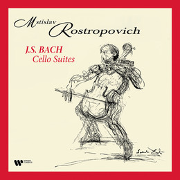 ROSTROPOVICH MSTISLAV – BACH:CELLO SUITES LP4