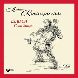 ROSTROPOVICH MSTISLAV – BACH:CELLO SUITES LP4