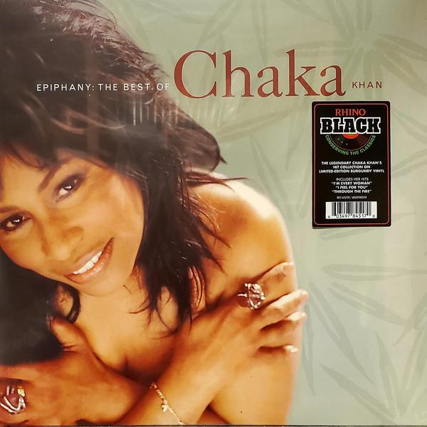 CHAKA KHAN – EPIPHANY- BEST OF(Burgundy) LP
