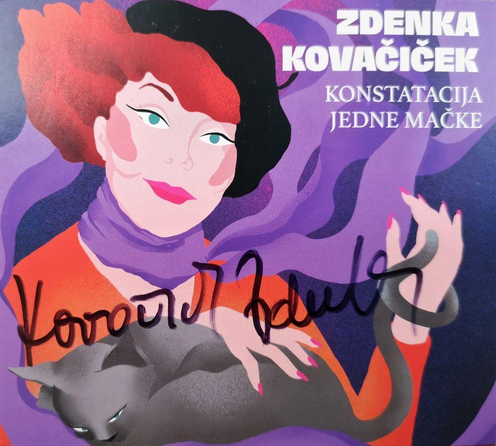 Dancing Bear osigurao potpisane primjerke novog albuma Zdenke Kovačiček u sklopu posebne limitirane ponude
