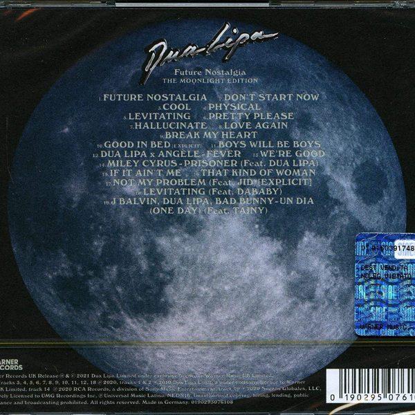 DUA LIPA – FUTURE NOSTALGIA moonlight edition CD