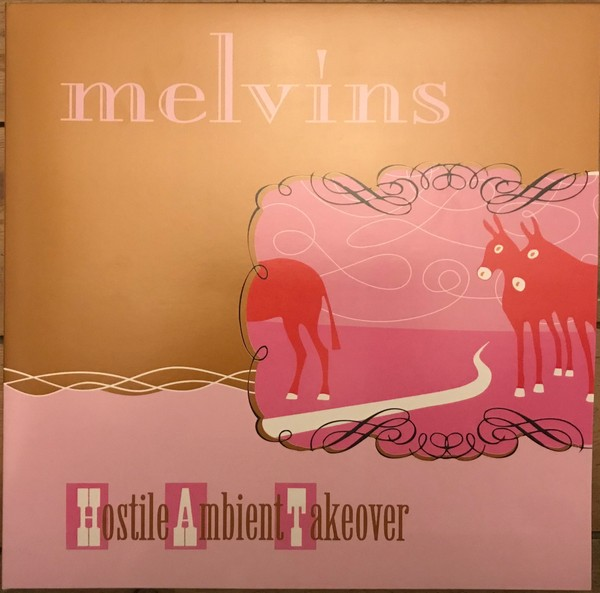 MELVINS – HOSTILE AMBIENT TAKEOVER baby pink vinyl LP