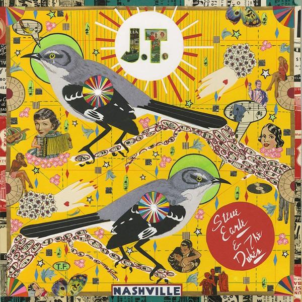 EARLE STEVE – J.T. exclusive red vinyl LP