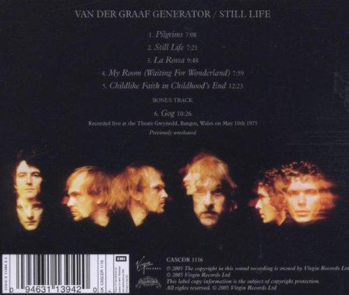 VAN DER GRAAF GENERATOR – STILL LIFE CD