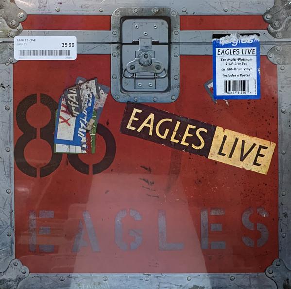 EAGLES – LIVE LP2