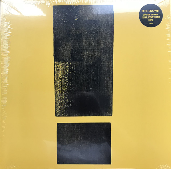 SHINEDOWN – ATTENTION ATTENTION translucent yellow vinyl  LP2