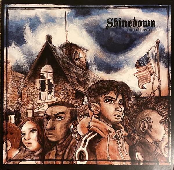 SHINEDOWN – US AND THEM translucent purple vinyl LP2