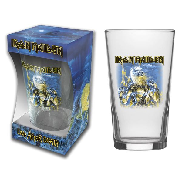 MERC – IRON MAIDEN LIVE AFTER DEATH ČAŠA ZA PIVO