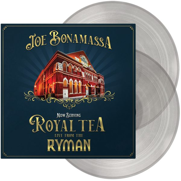 BONAMASSA JOE – NOW SERVING ROYAL TEA clear LP2