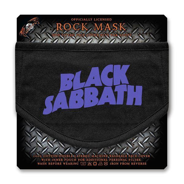 MERC – BLACK SABBATH LOGO FACE COVER
