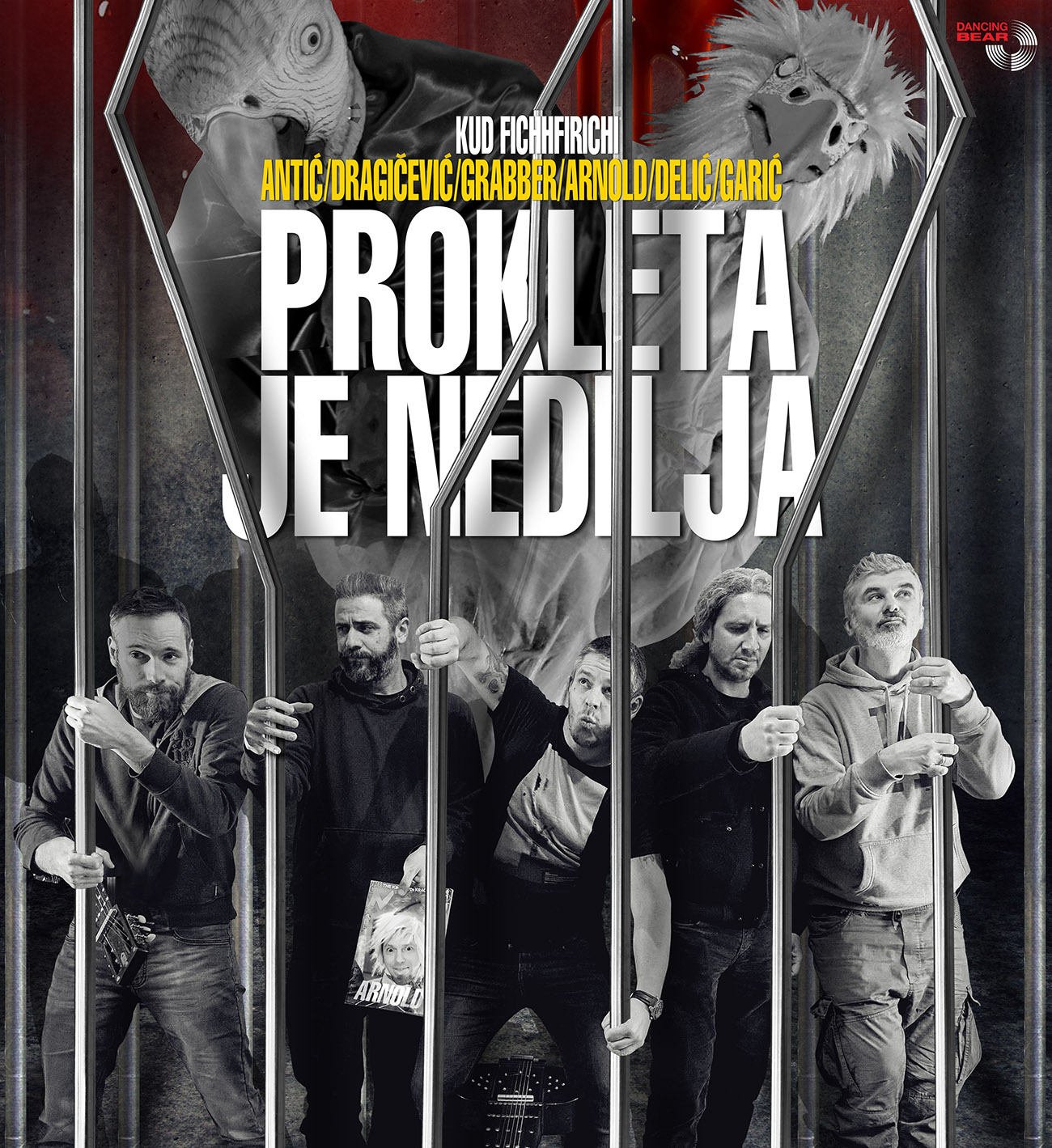 "KUD Fichfirichi objavljuju fantastičan singl ""Prokleta je Nedilja"""