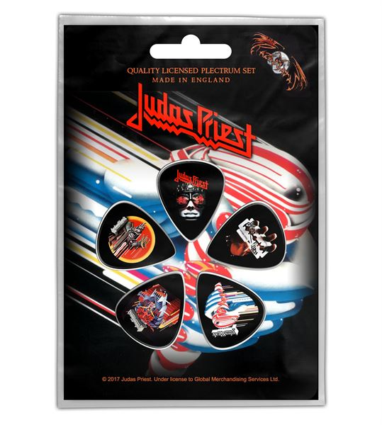 MERC – JUDAS PRIEST TURBO TRZALICE SET 5 KOM
