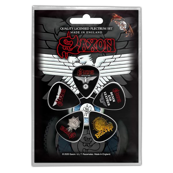 MERC – SAXON WHEELS OF STEEL TRZALICE ZA GITARU SET 5 KOM