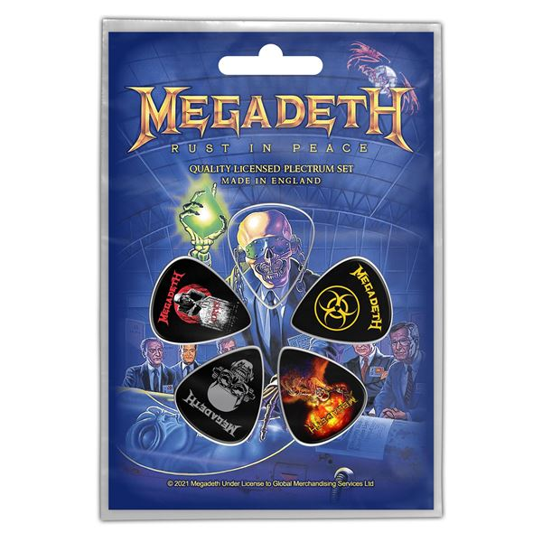 MERC – MEGADETH RUST IN PEACE TRZALICE SET 5 KOM