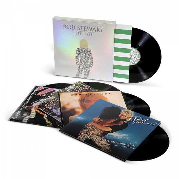 ROD STEWART – 1975 – 1978  LP5 BOX SET