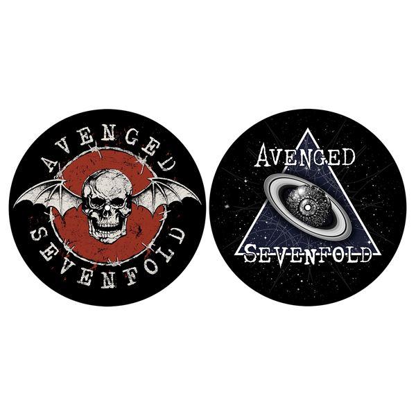 MERC – SLIPMAT: AVENGED SEVENFOLD SKULL/SPACE SET 2 KOM