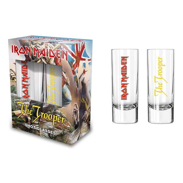 MERC – IRON MAIDEN TROOPER SHOT GLASS SET 2 KOM