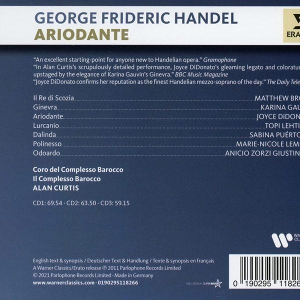 HANDEL/DIDONATO/CURTIS – ARIODANTE CD3