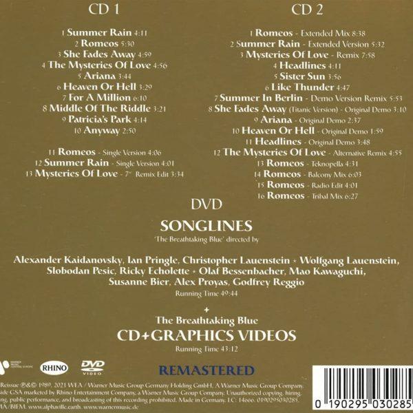 ALPHAVILLE – BREATHTAKING BLUE deluxe edition CD2D