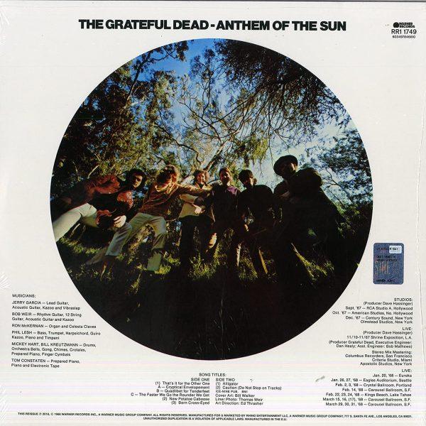 GRATEFUL DEAD – ANTHEM OF THE SUN 50th anniversary remaster LP