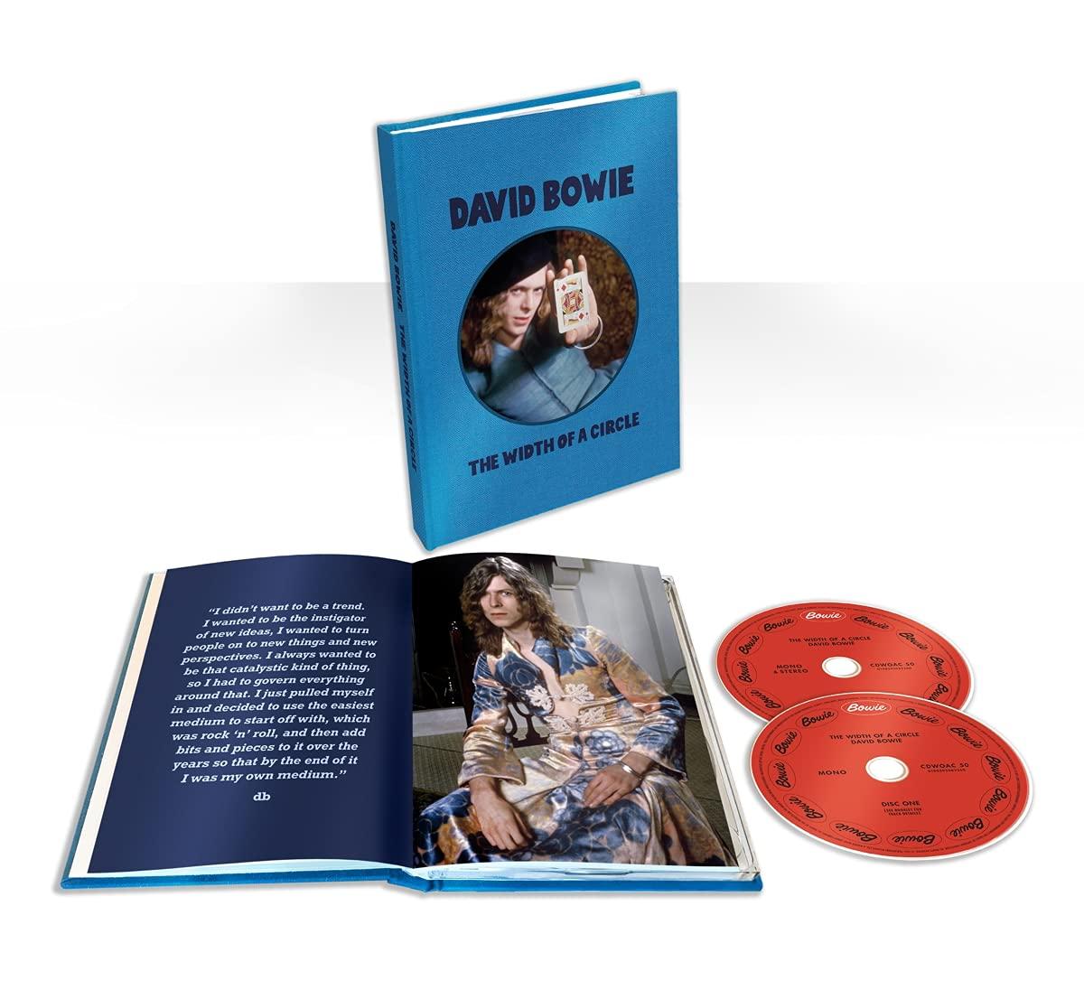 """Snimke Davida Bowieja iz 70-ih godina dostupne na bogatom CD setu """"The Width of a Circle"""""""