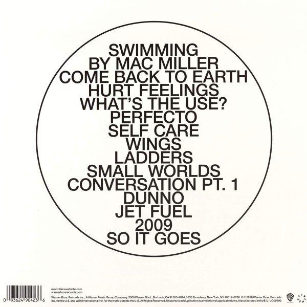 MILLER MAC – SWIMMING LP