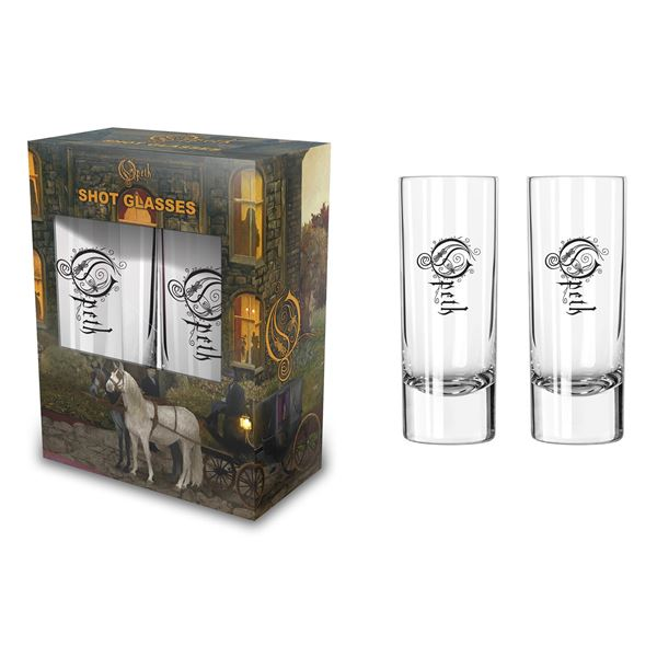 MERC – OPETH IN CAUDE VENENUM SHOT GLASS 2 KOM