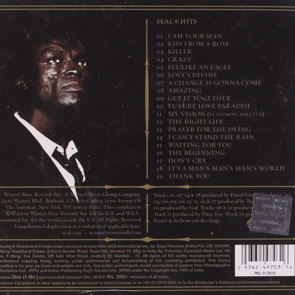 SEAL – HITS CD