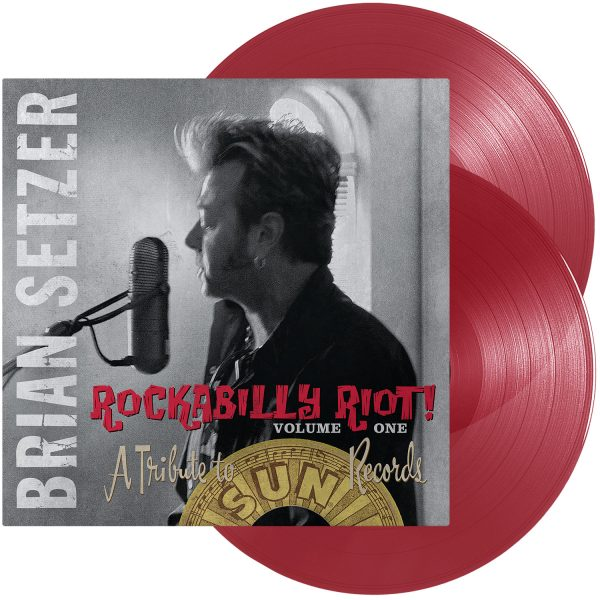 SETZER BRIAN – ROCKABILLY RIOT red vinyl LP
