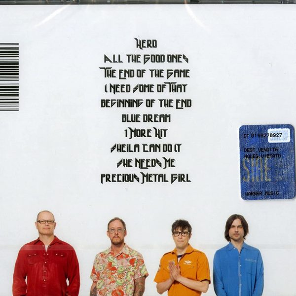 WEEZER – VAN WEEZER CD