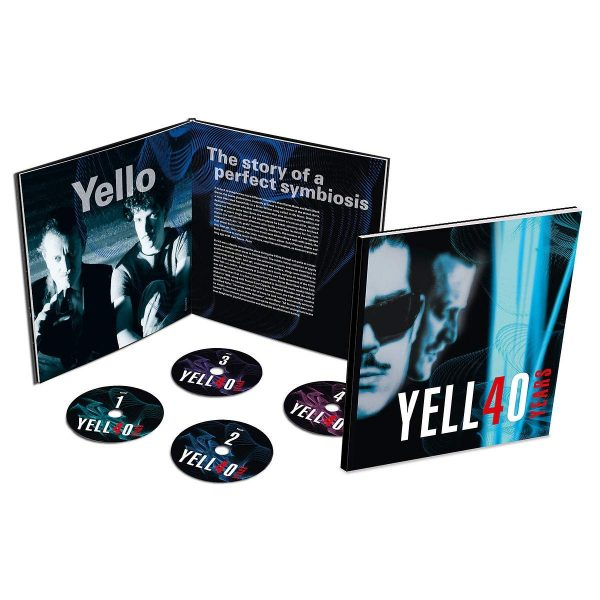 YELLO – 40 YEARS limited numbered CD4