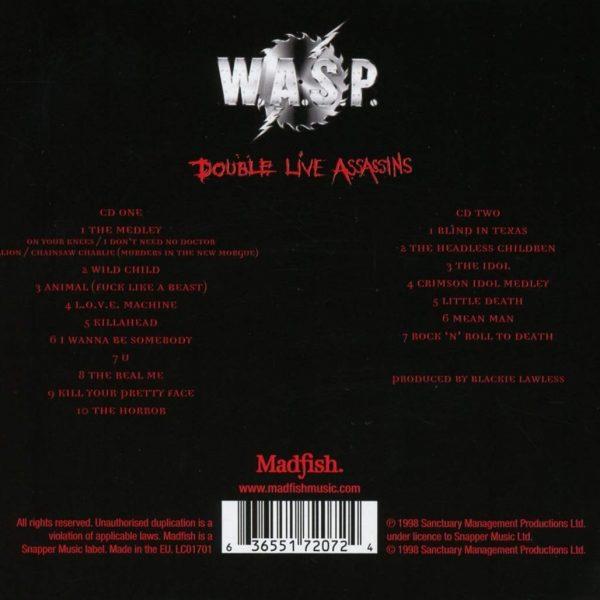 W.A.S.P. –  DOUBLE LIVE ASSASSINS CD2
