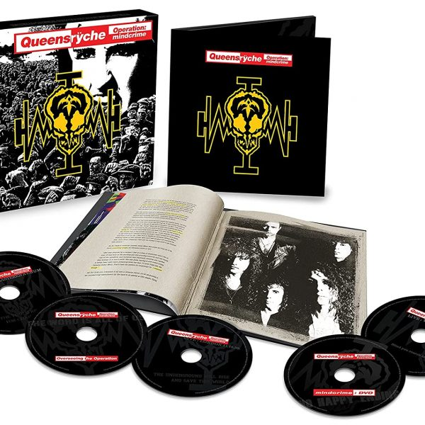 QUEENSRYCHE – OPERATION MINDCRIME seper deluxe edition CD4/DVD
